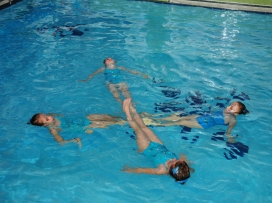 Plavecké závody 2013
