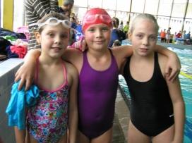 Plavecké závody Písek 22.11.2014