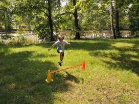 výškař zachycen v akci