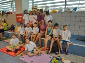Závody Aliance dětského plavání 16.3.2019