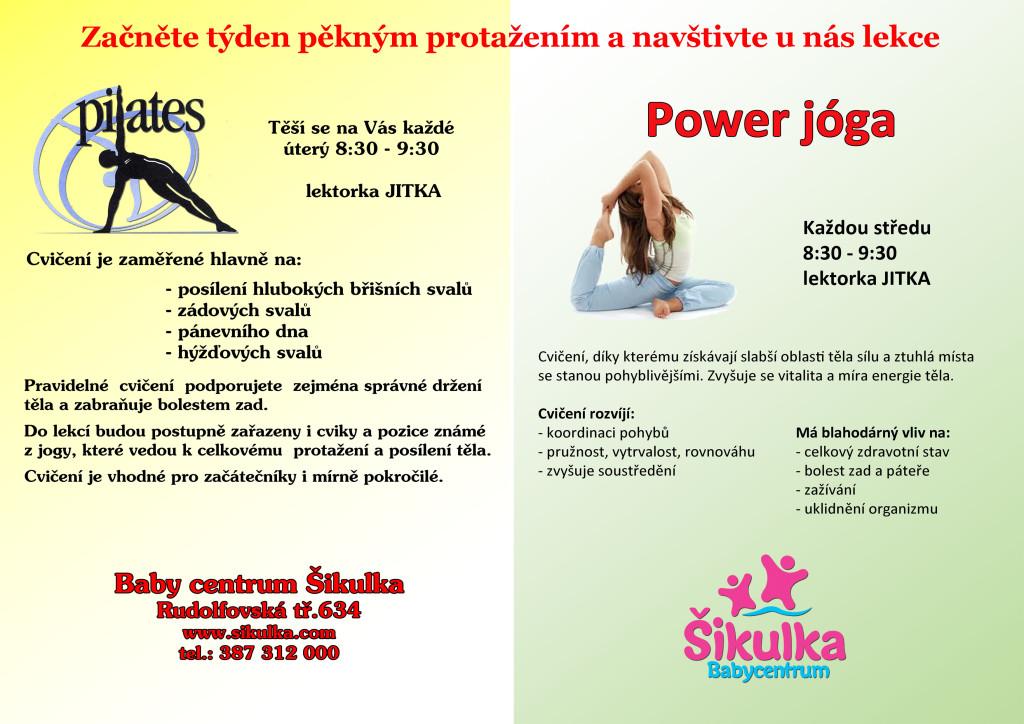 pilates + powerjoga