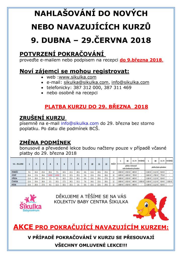 POKRA - DUBEN - ČERVEN 2018