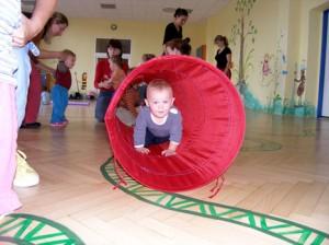 Tělocvična gt cvičení dětí s rodiči